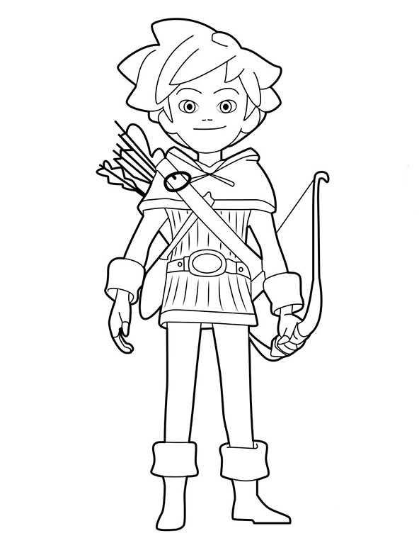 Robin Hood 5 Ausmalbilder Kostenlos