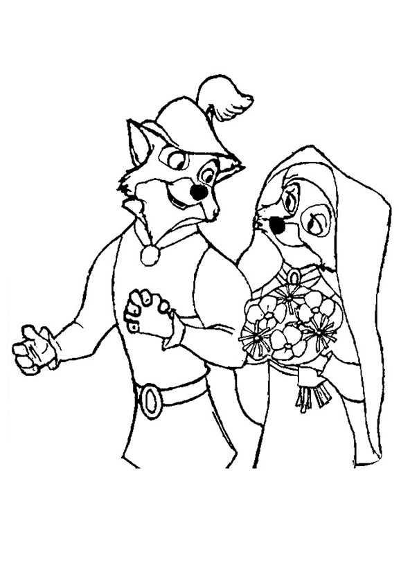 Ausmalbilder Robin Hood 14