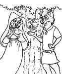 Ausmalbilder Robin Hood 16