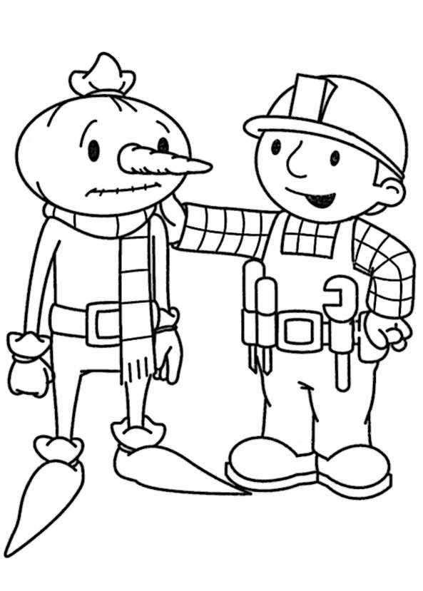 Bob der baumeister ausmalbilder  Bob der Baumeister 13 | Ausmalbilder Kostenlos