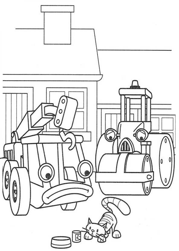 Bob der Baumeister 14 Ausmalbilder