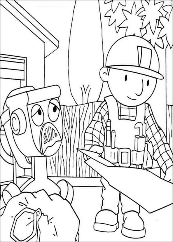 Bob der Baumeister zum ausmalen 17