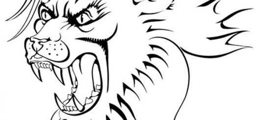 Ausmalbilder Löwe 1