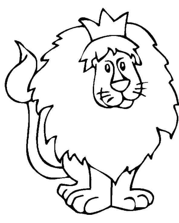 Ausmalbilder Löwe 10