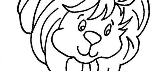 Ausmalbilder Löwe 12