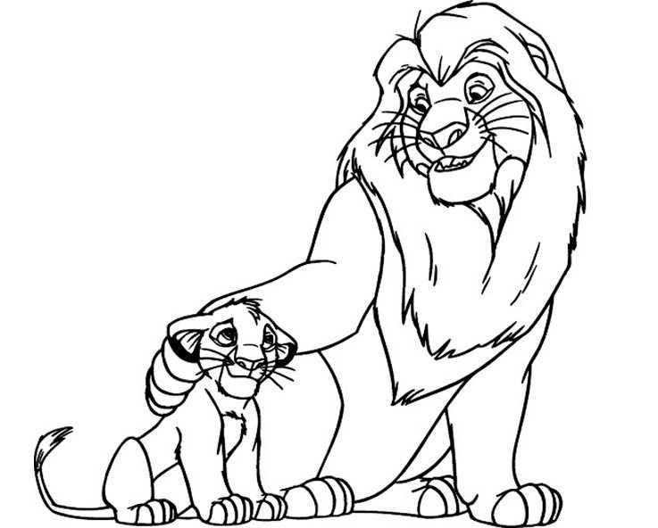 Ausmalbilder Löwe 25