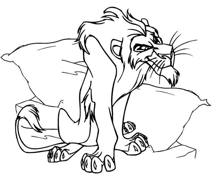Ausmalbilder Löwe 26