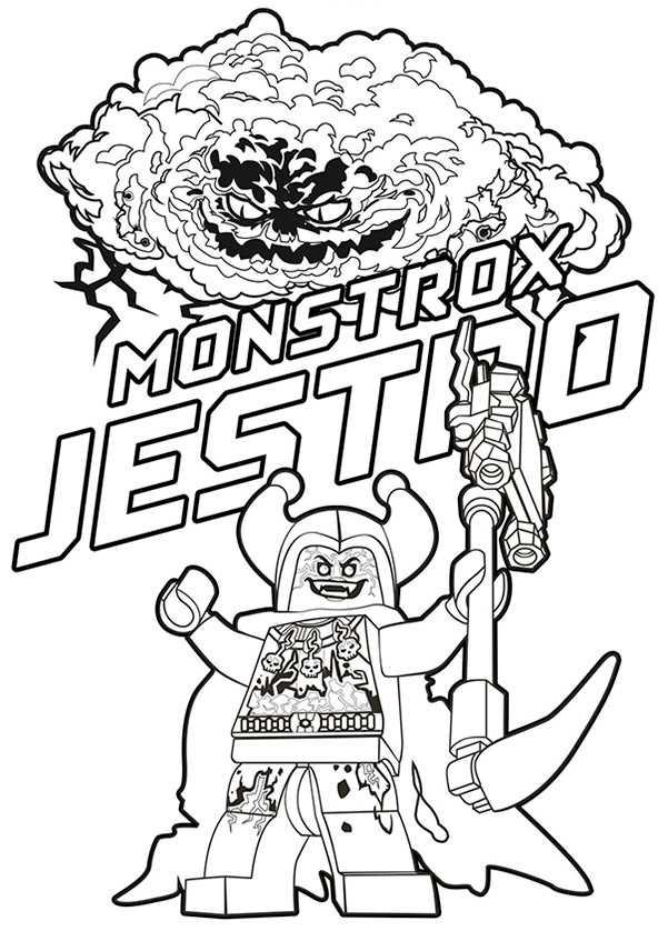 Nexo Knights Jestro Und Monstrox