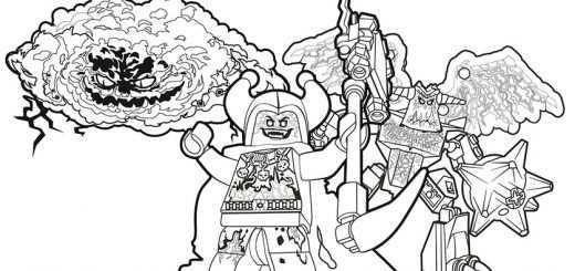 Ausmalbilder Nexo Knights 21