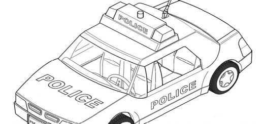 Ausmalbilder Playmobil Auto 1
