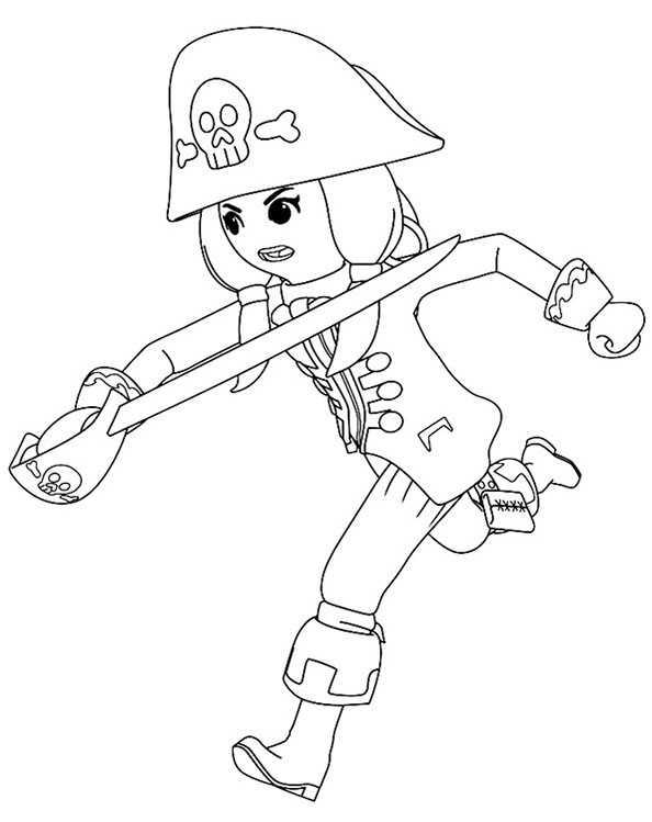 Ausmalbilder Playmobil 2