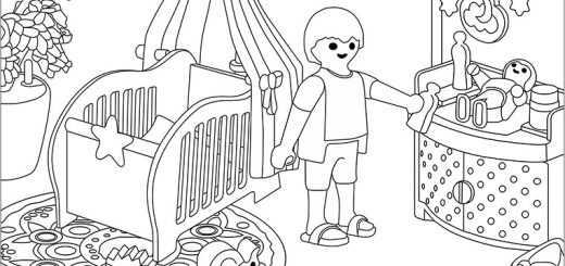 Playmobil zum ausmalen 5