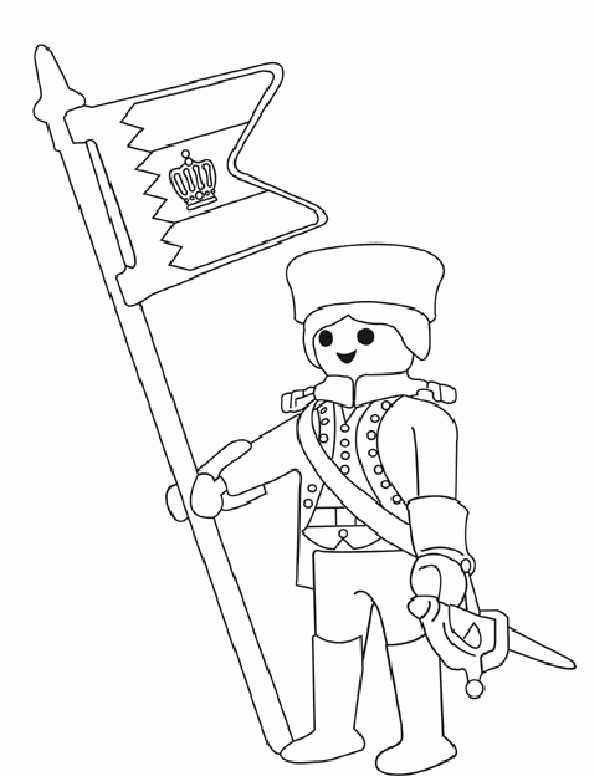 Ausmalbilder Playmobil 10
