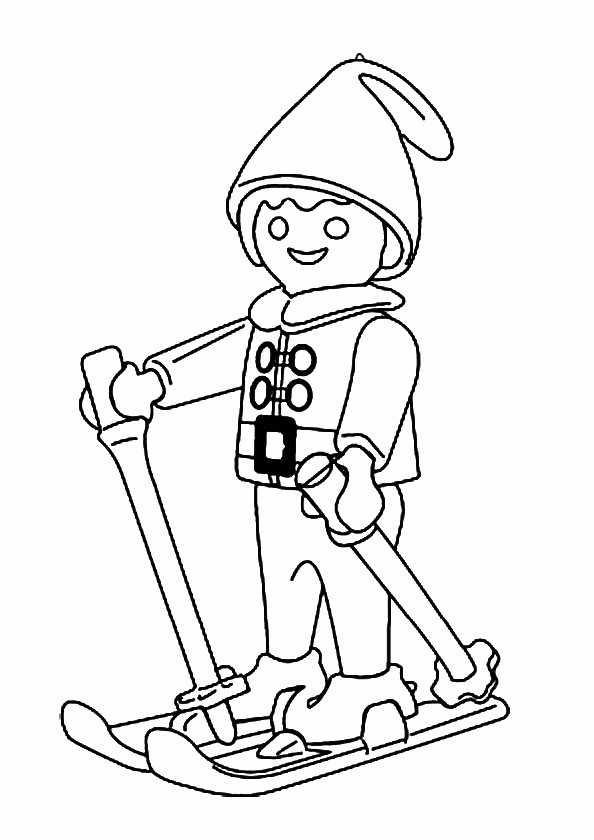 Ausmalbilder Playmobil 15