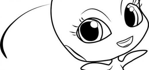Ausmalbilder Miraculous Ladybug 6
