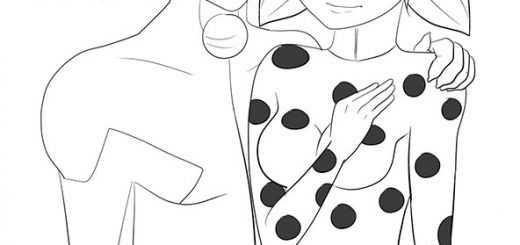 Ausmalbilder Miraculous Ladybug 7