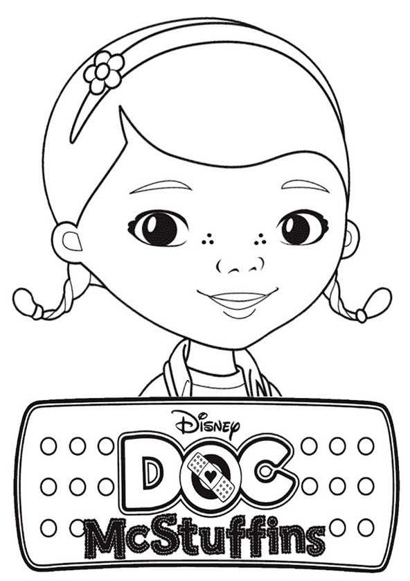 Ausmalbilder Doc McStuffins 1