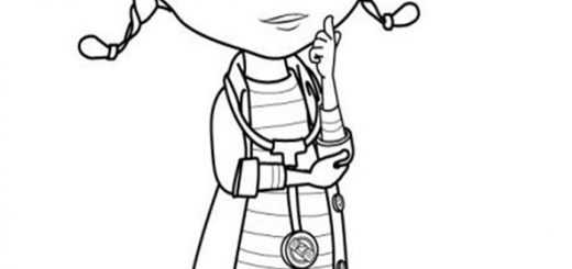 Ausmalbilder Doc McStuffins 5