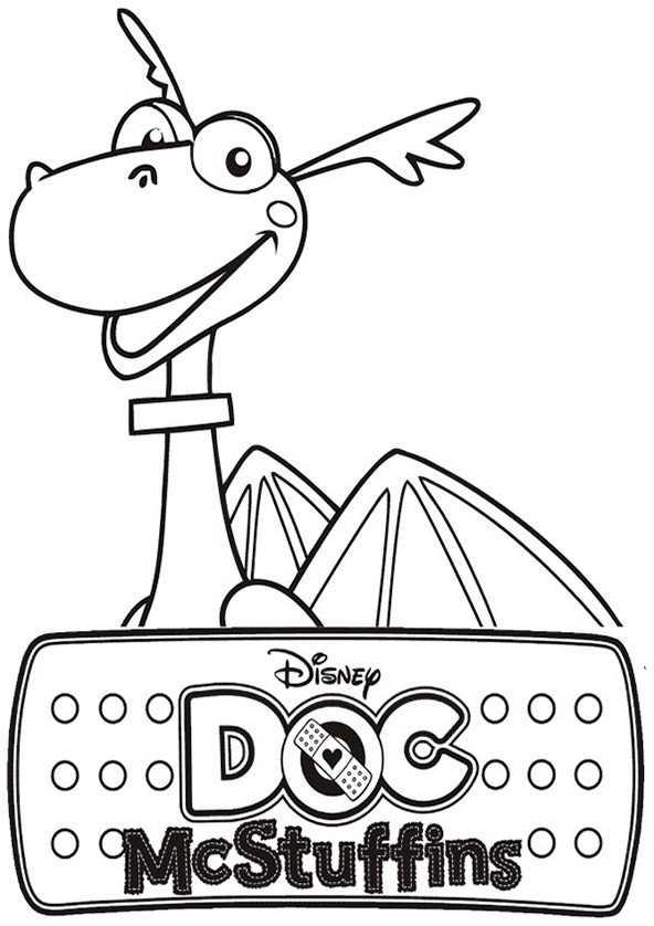 Ausmalbilder Doc McStuffins 8