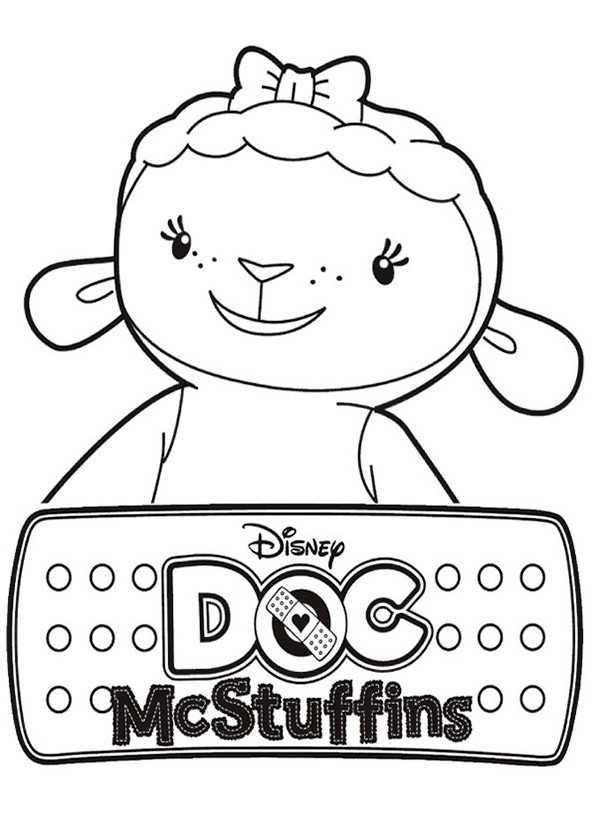 Ausmalbilder Doc McStuffins 9