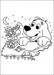 Ausmalbilder Clifford Weihnachten 53