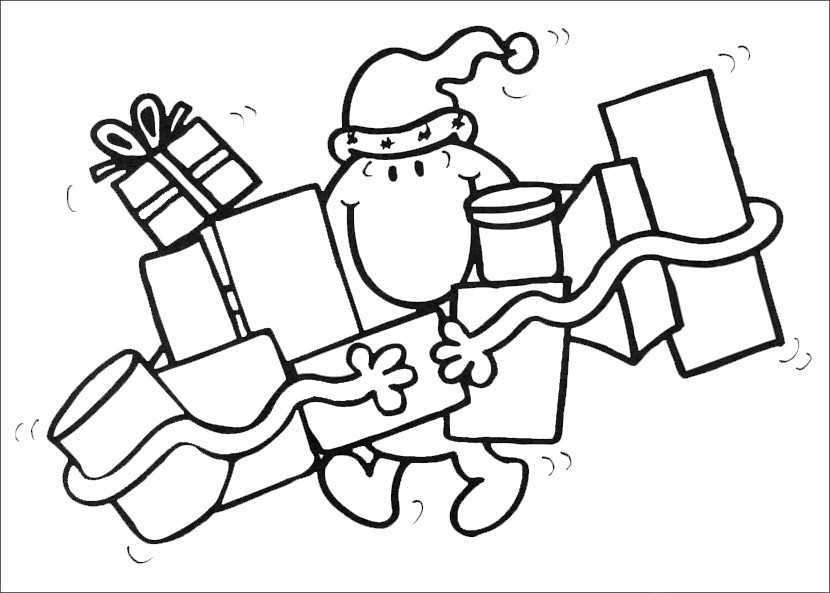 Ausmalbilder Weihnachten 55