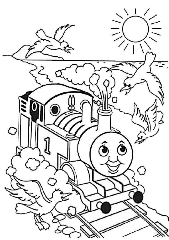 Thomas und seine Freunde zum ausmalen,Bild 2