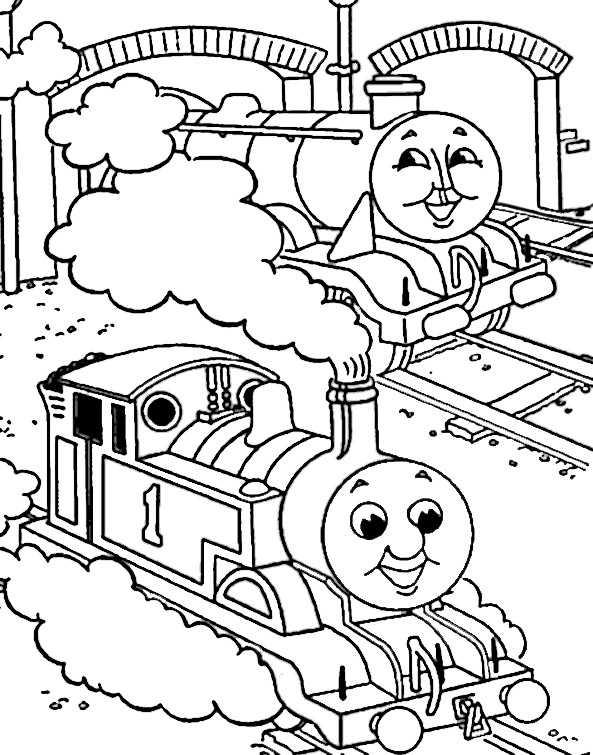 Thomas und seine Freunde ausmalbilder, Bild 3