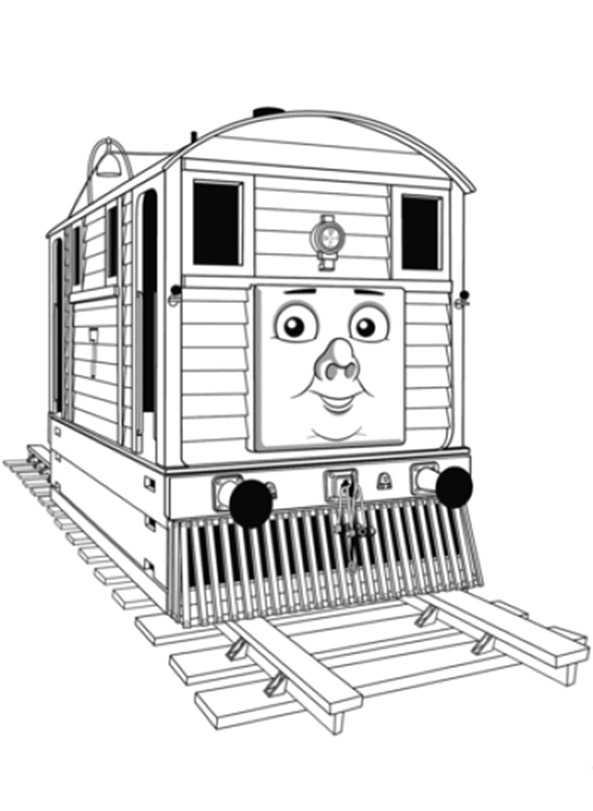 Thomas un seine Freunde ausmalbilder 6